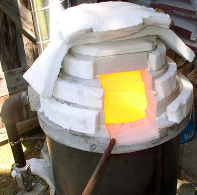 Glass melting Furnace